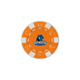 Orange Game Chip-Primary Logo