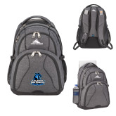 High Sierra Swerve Graphite Compu Backpack-Primary Logo