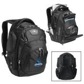 Ogio Stratagem Black Backpack-Primary Logo