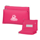 Tropical Pink Vanity Bag w/Mirror-Primary Logo