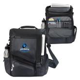Momentum Black Computer Messenger Bag-Primary Logo