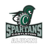 Alumni Decal-Alumni, 6 inches tall