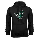 Black Fleece Hoodie-Spartan w/ Shield