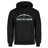 Black Fleece Hoodie-Football Design
