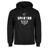 Black Fleece Hood-Basketball Design