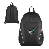 Atlas Black Computer Backpack-Spartan w/ Shield