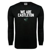 Black Long Sleeve TShirt-We Are Castleton