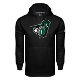 Under Armour Black Performance Sweats Team Hood-Spartan w/ Shield