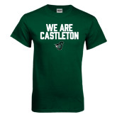 Dark Green T Shirt-We Are Castleton