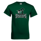 Dark Green T Shirt-Hockey
