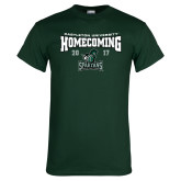 Dark Green T Shirt-Homecoming 2017
