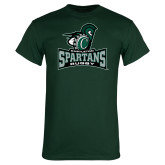 Dark Green T Shirt-Rugby