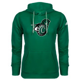 Adidas Climawarm Dark Green Team Issue Hoodie-Spartan w/ Shield