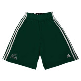 Adidas Climalite Dark Green Practice Short-Primary Mark