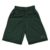 Performance Classic Dark Green 9 Inch Short-Primary Mark