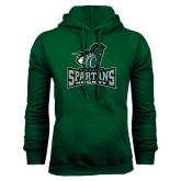 Dark Green Fleece Hood-Hockey