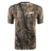 Realtree Camo T Shirt-Wordmark Tone