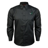 Red House Black Long Sleeve Shirt-Spartan w/ Shield