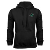 Black Fleece Hoodie-Spartan Head