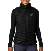 Columbia Mighty LITE Ladies Black Vest-Spartan w/ Shield