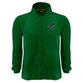 Fleece Full Zip Dark Green Jacket-Spartan Head