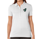 Ladies Callaway Opti Vent White Polo-Spartan w/ Shield