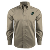 Red House Tan Long Sleeve Shirt-Spartan w/ Shield