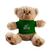 Plush Big Paw 8 1/2 inch Brown Bear w/Dark Green Shirt-Primary Mark