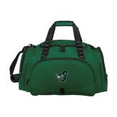Challenger Team Dark Green Sport Bag-Spartan w/ Shield