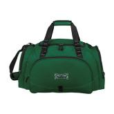 Challenger Team Dark Green Sport Bag-Wordmark