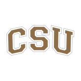 Medium Decal-CSU Arched, 8 in Wide