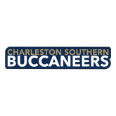 Large Decal-Charleston Southern Buccaneers, 12in Wide