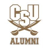 Alumni Decal-Alumni, 6 in Tall