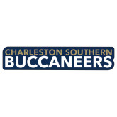 Extra Large Decal-Charleston Southern Buccaneers, 18in wide