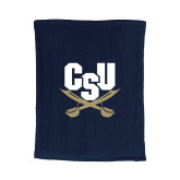 Navy Rally Towel-Primary Athletic Mark