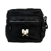 All Sport Black Cooler-CSU-Swords Logo