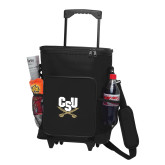 30 Can Black Rolling Cooler Bag-Primary Athletic Mark