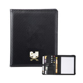 Carbon Fiber Tech Padfolio-CSU-Swords Logo
