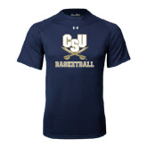 Under Armour Navy Tech Tee-Basketball