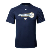 Under Armour Navy Tech Tee-Buccaneers Baseball Flying Ball