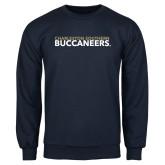 Navy Fleece Crew-Charleston Southern Buccaneers