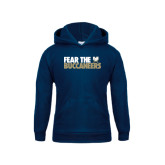 Youth Navy Fleece Hood-Fear The Buccaneers