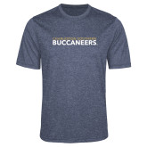Performance Navy Heather Contender Tee-Charleston Southern Buccaneers