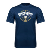 Syntrel Performance Navy Tee-Buccaneers Basketball Arched