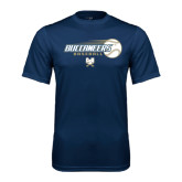 Syntrel Performance Navy Tee-Buccaneers Baseball Flying Ball