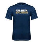 Syntrel Performance Navy Tee-Fear The Buccaneers