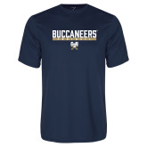 Performance Navy Tee-Football in Bar