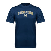Syntrel Performance Navy Tee-Buccaneers Arched