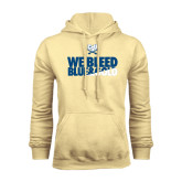 Champion Vegas Gold Fleece Hood-We Bleed Blue & Gold