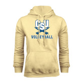 Champion Vegas Gold Fleece Hood-Volleyball